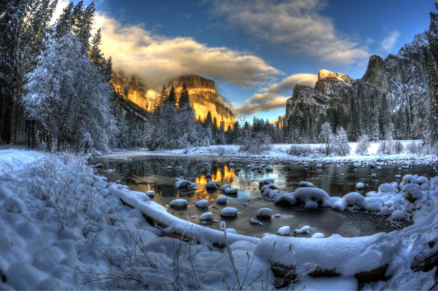 yosemite Winter 8 by merzlak