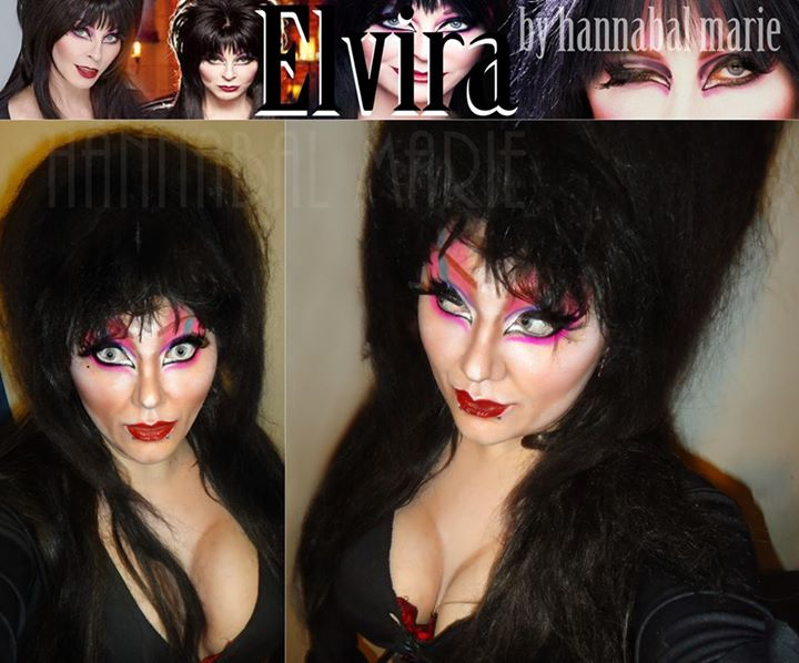 Elvira Transformation by Hannabal Marie! by HannabalXMarie