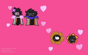 Darkmatter and Shadimatter love for Cutiercosita
