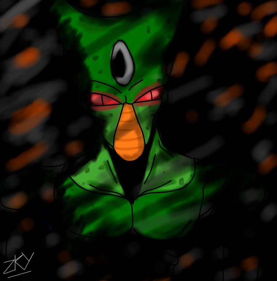 Imperfect Cell - FAN ART by Zkybo