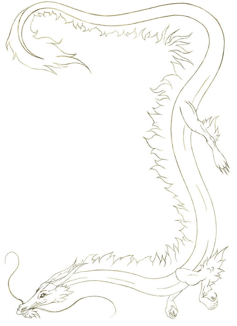 New Year S Line Art : Chinese new year lineart by black dragon club on deviantart