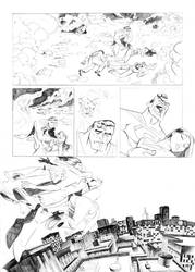Superman comic test - page 4 by jfsouzatoons