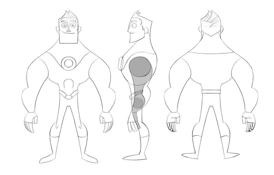 Character Design In Blender : Character modelsheet by jfsouzatoons on deviantart