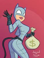 Catwoman by jfsouzatoons