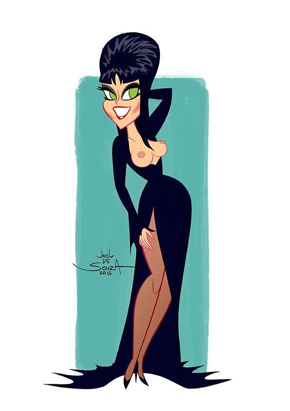 Commission - Elvira by jfsouzatoons