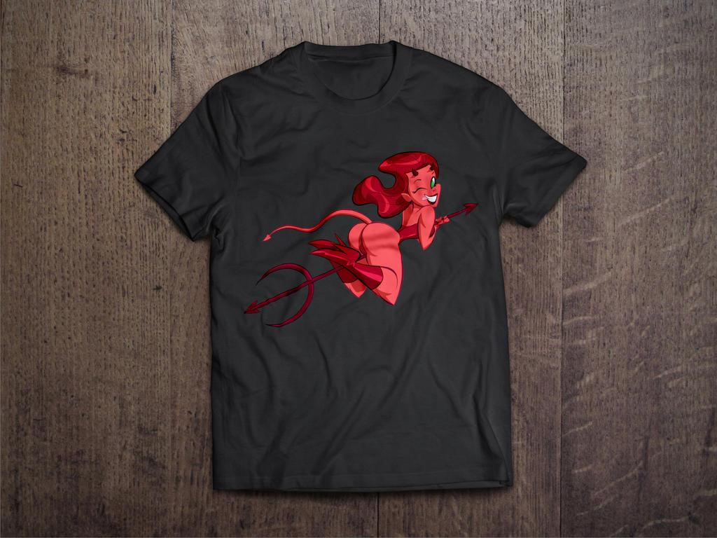 Swee Devil T-shirt by jfsouzatoons