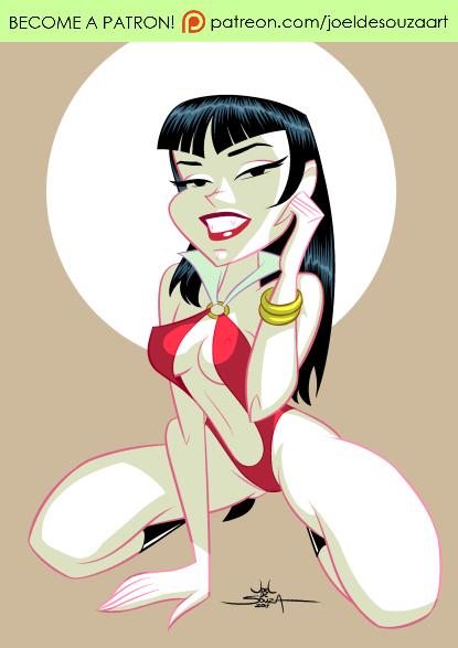 Vampirella by jfsouzatoons
