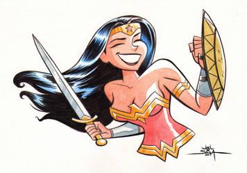 Wonder Woman! by jfsouzatoons