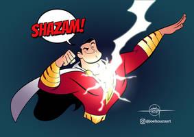 Shazam! by jfsouzatoons
