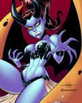 COMMISSION - OC Lili, The Demoness