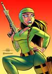 COMMISSION - G.I. JOE Greenshirt Soldier