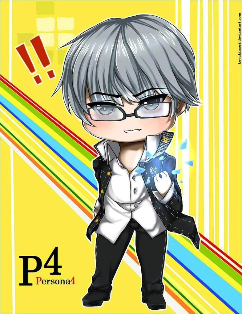 Persona 4: Chibi Yu Narukami by KoyukiMori