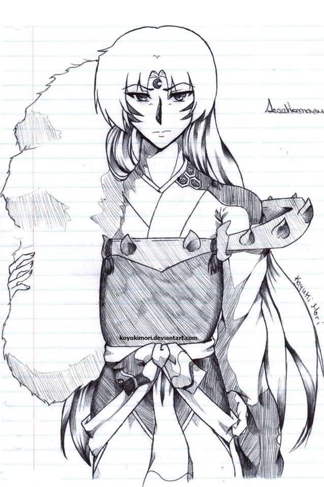 Lord Sesshomaru by KoyukiMori