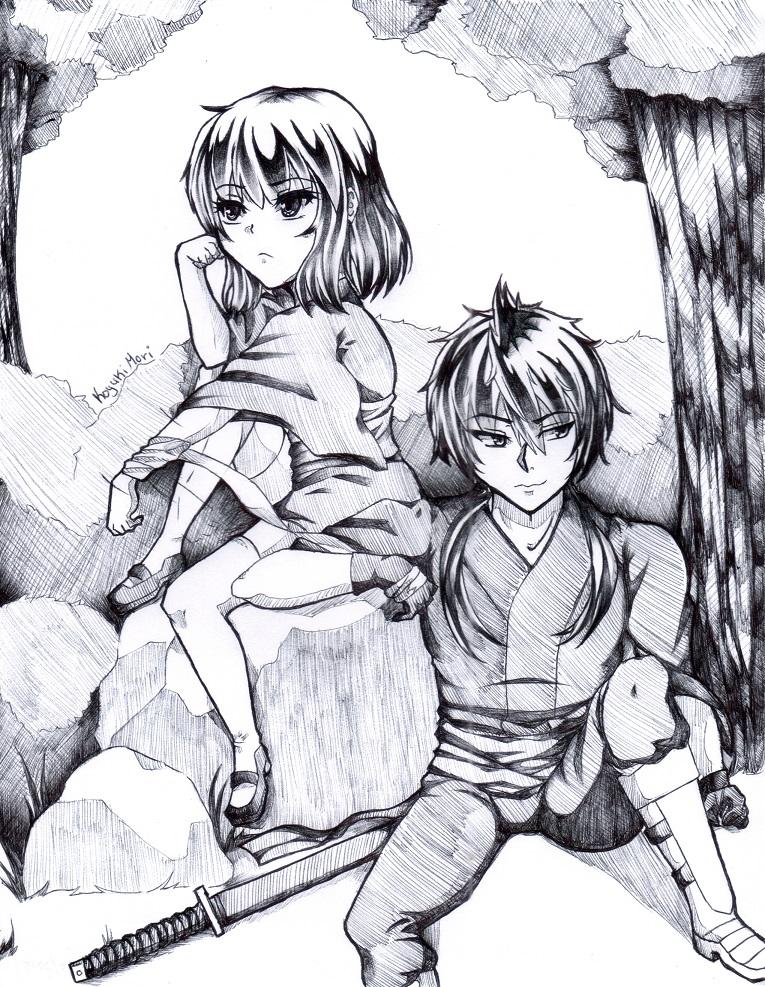Messing around together by KoyukiMori