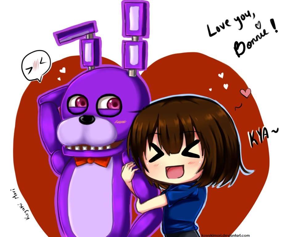 FNAF: I love Bonnie! by KoyukiMori