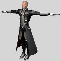 Master Xehanort 3D Model by TheRPGPlayer