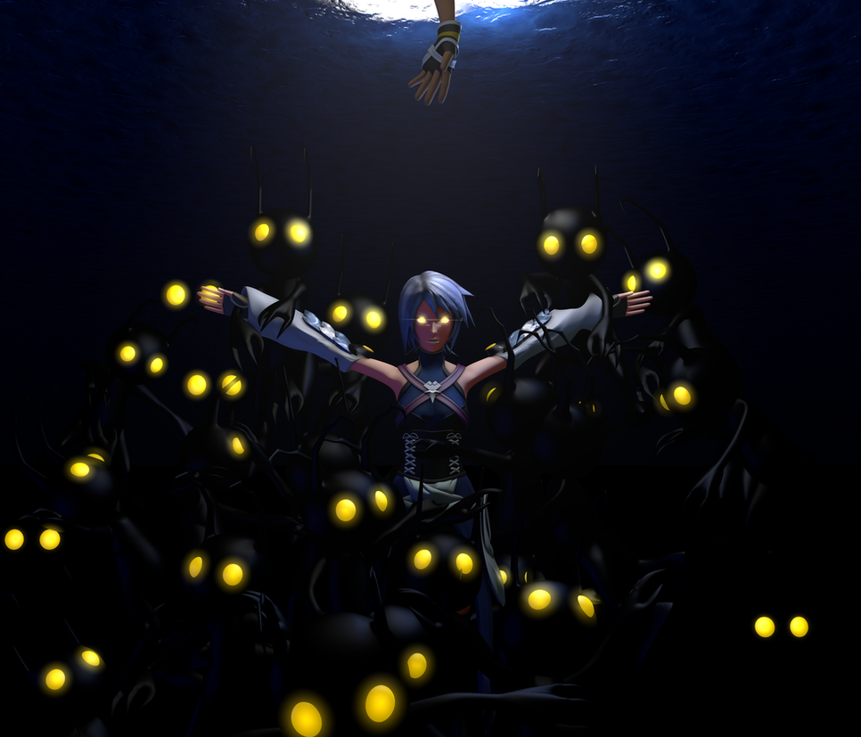 Aqua in Darkness by TheRPGPlayer