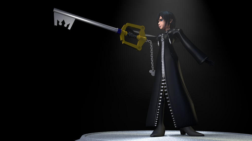 Kingdom Hearts: Xion 3D Model by TheRPGPlayer