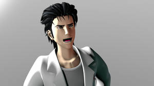 Mad Scientist! (Okabe 3D Model) by TheRPGPlayer