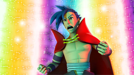 Who the hell do you think I am - Kamina by TheRPGPlayer