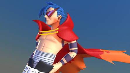 The Mighty Kamina by TheRPGPlayer