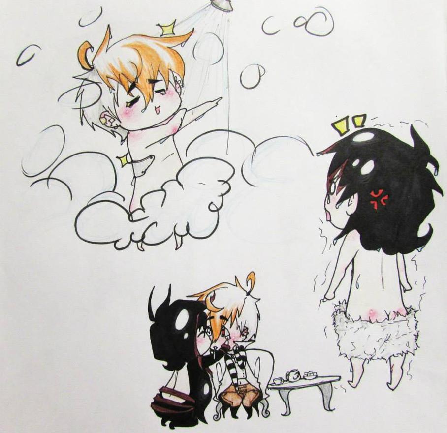 OC's doodle by SebbysGirl13