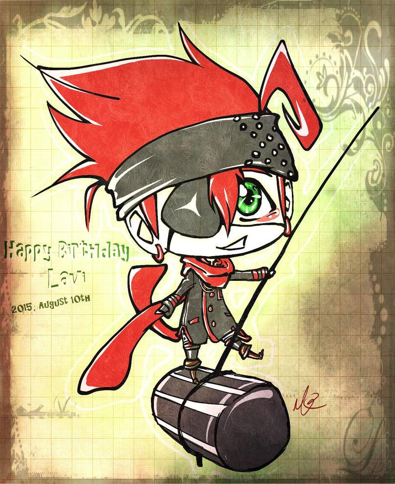 Lavi Bookman:: Happy birthday!! by SebbysGirl13