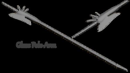 Skyrim Glass Polearm