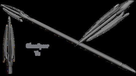 Skyrim Glass Spear V2