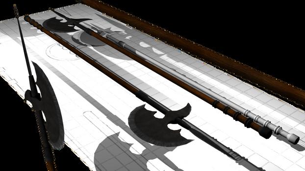 Steel Polearm Final