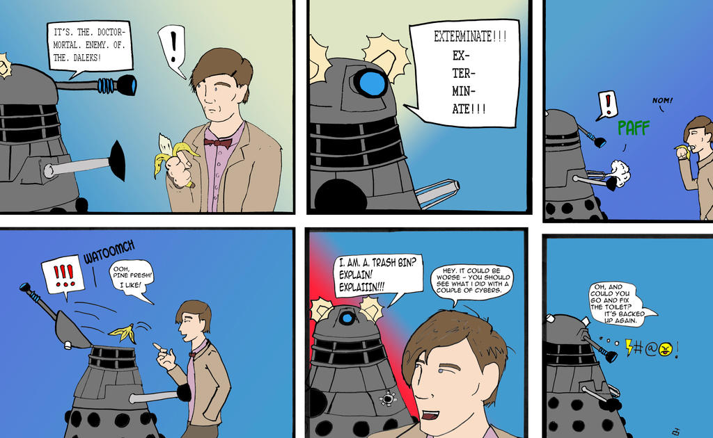 Timelord Recycling by Dankrakulus