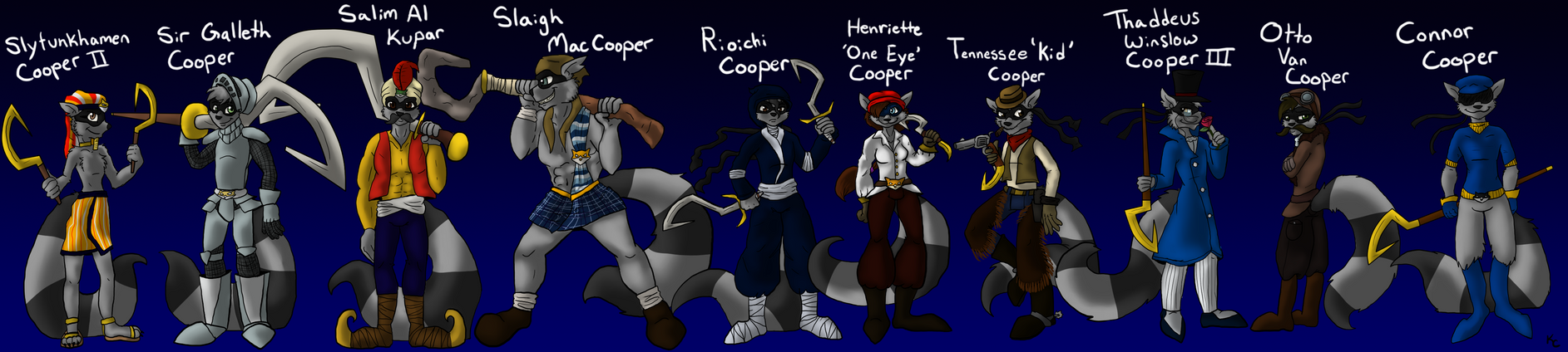 The Cooper Ancestors by SnookumsGal