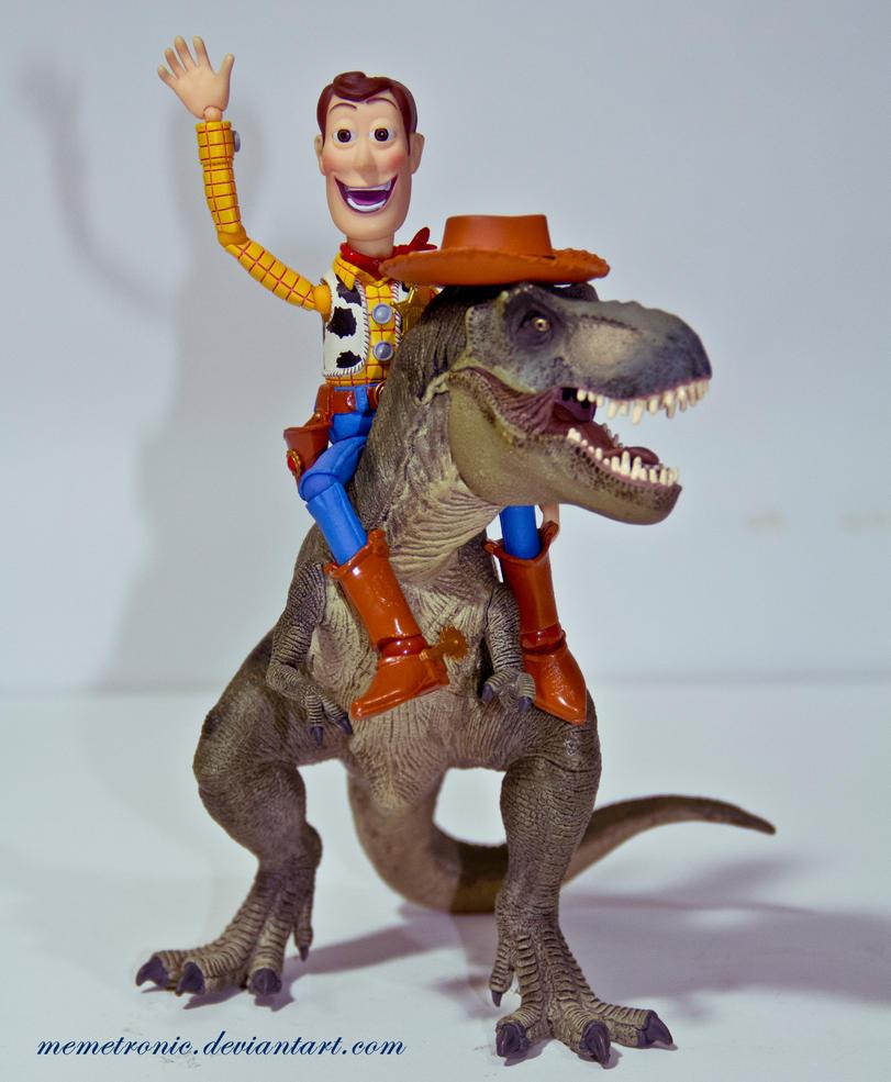 Woody T-Rex by memetronic
