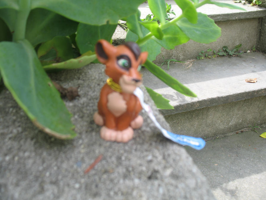 .:BullyLand Kovu toy:. by Wolvesforeva