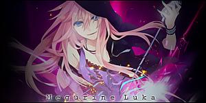Luka Megurine signature by HimekoAsai
