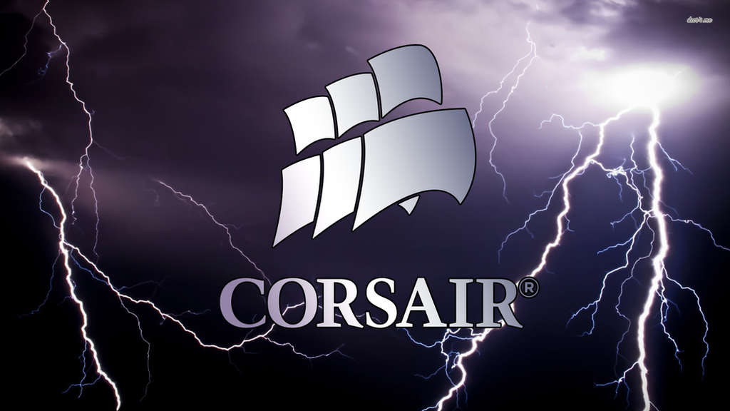 Corsair background lightning 1080p by oateslogan on deviantart for Corsair wallpaper 4k