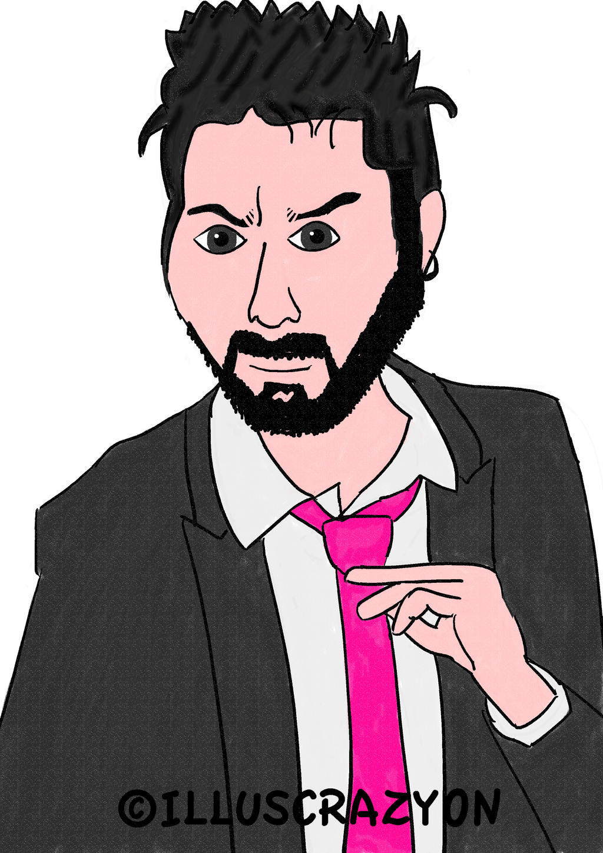 Caricatura Dani Martinez