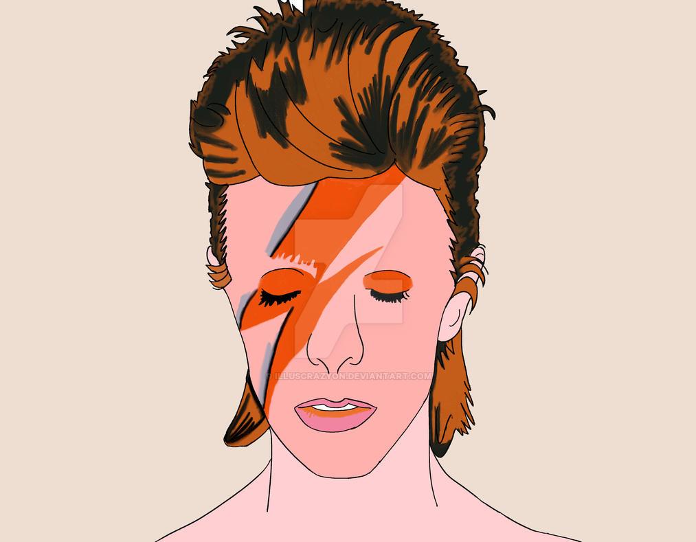 Bowie by illuscrazyon