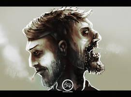 Double face by tranenlarm