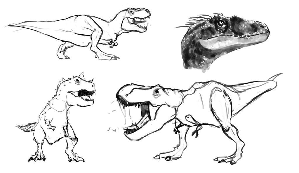 [ Step ]  Dinosketch_by_tranenlarm-d8jk94t