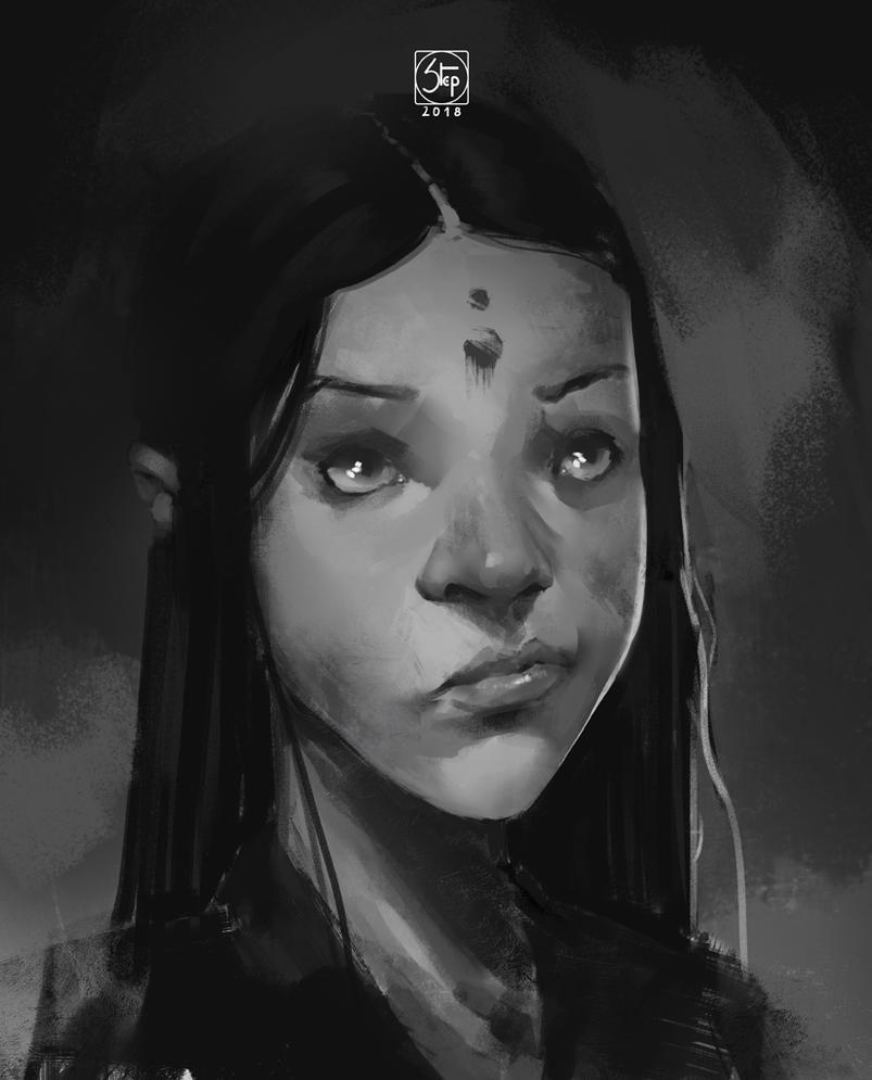 random portrait by tranenlarm