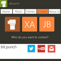 Contact Us Metro UI by manomow