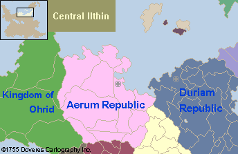 V2 Raythe: Central Ilthin 1755AD by manomow