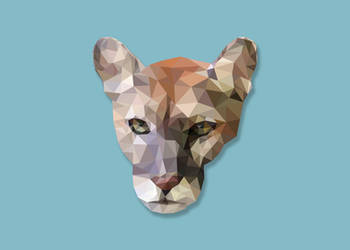 Low-Poly Panther
