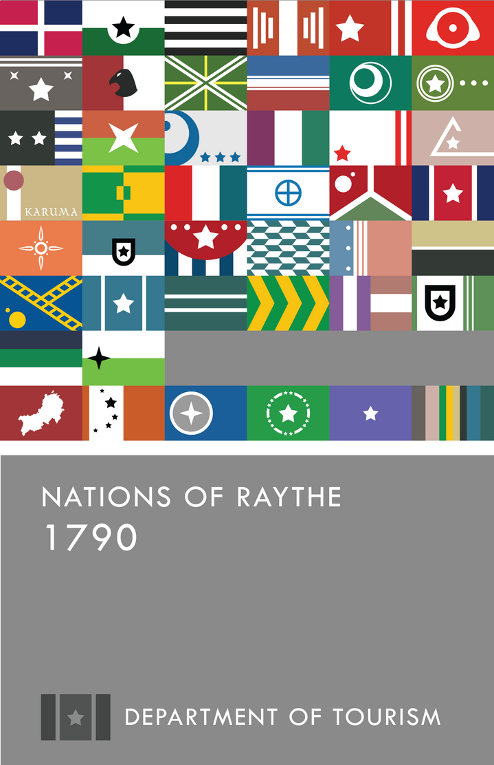 V3: Nations of Raythe 1790 Almanac by manomow