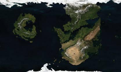 V3 Raythe: Satellite Map