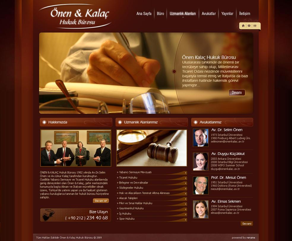 Attorney Website Design Dallas