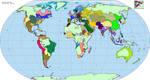 His Dark Materials map (The Golden Compass)