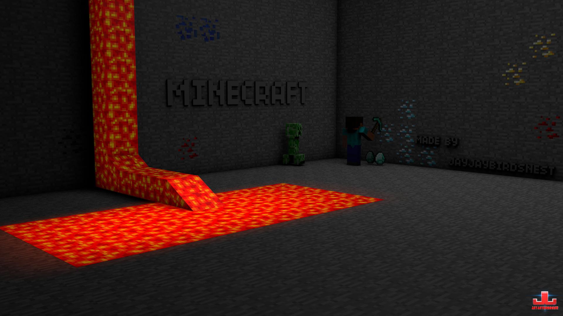 Best Wallpaper Minecraft Gold - minecraft_cave_wallpaper_by_jayjaybirdsnest-d49ai95  Pic_611359.jpg