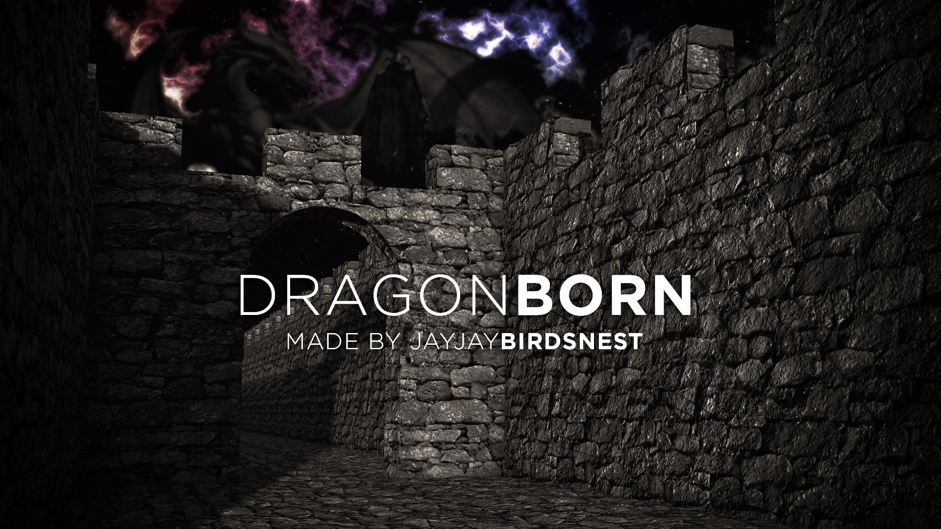 dragonborn skyrim wallpaperjayjaybirdsnest on deviantart